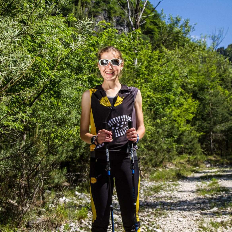 Yulia Baykova trail running
