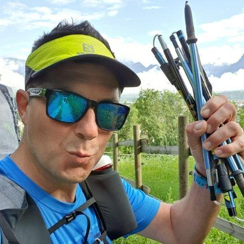 Marco de cet, atleta di Hike & Fly